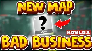 *NEW* AREA 51 MAP in Bad Business Roblox! NERFED RAYGUN!! (Roblox Bad Business Gameplay)