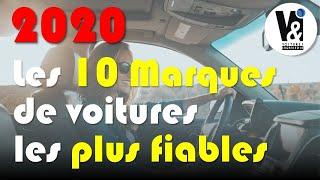 2020 : LES MARQUES DE VOITURE LES PLUS FIABLES