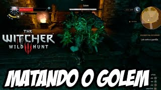 The Witcher 3: Wild Hunt - Matando um Golem (PS4 GAMEPLAY HD)
