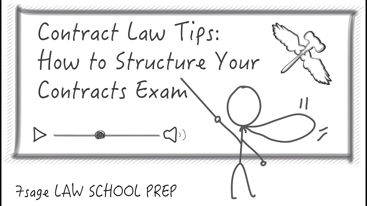 Contract Law Tips How To Structure Your Contracts Exam Sage Contract Law  Tips How To Structure