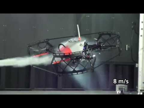 The Flying Anemometer: Researchers test hexacopter as wind sensor in world's first 3D wind tunnel