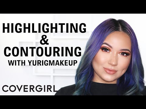 How to Contour and Highlight Makeup Tutorial   COVERGIRL