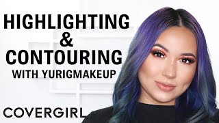 How to Contour and Highlight Makeup Tutorial | COVERGIRL