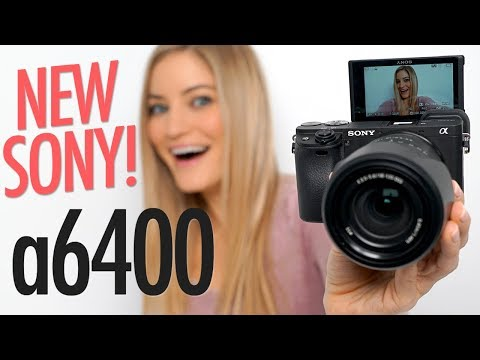 NEW Sony a6400 with FLIP SCREEN Review!