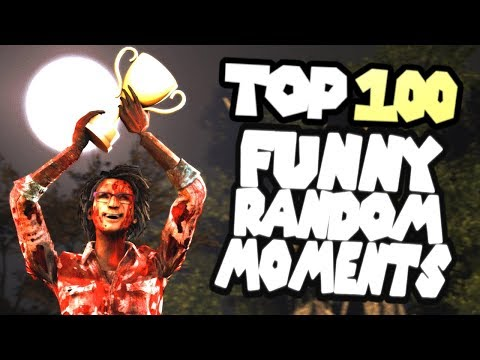 Dead by Daylight TOP 100 funny random moments montage
