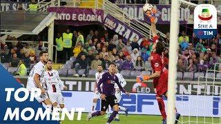 Cragno Superb Save | Fiorentina 1-1 Cagliari | Serie A