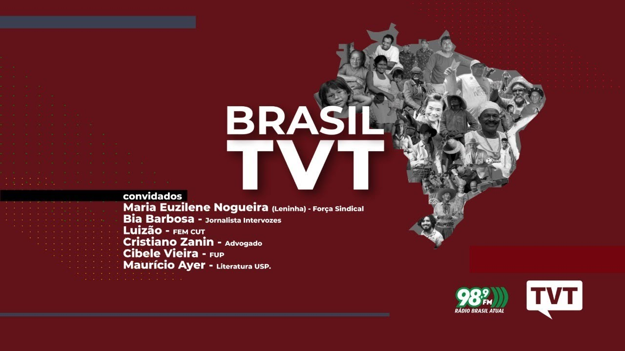 ? Brasil TVT – 09.08.2020 – Análise das principais notícias da semana #AOVIVO