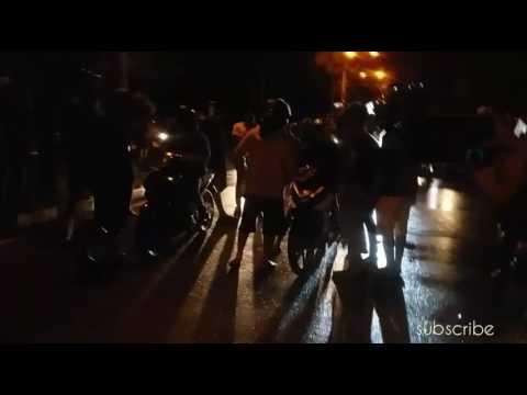 BalapLiar Berunjung kelahi   Ponga Vs Thessy Melawai Balikpapan Wet Race