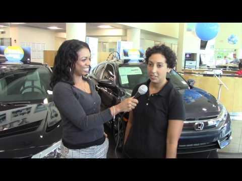 West Palm Beach Braman Customer Trades In Toyota For Honda