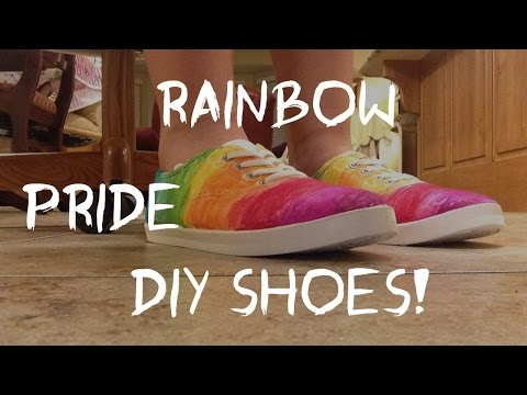 DIY Test | Pride/Rainbow Shoes!