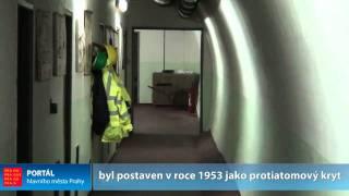 Tunel Karlín - Žižkov: kryt civilní ochrany pod Vítkovem