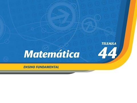 44  O círculo e o número Pi  Matemática  Ens. Fund.  Telecurso