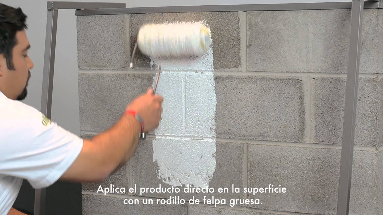 Block filler espa ol youtube - Como decorar un muro de hormigon ...