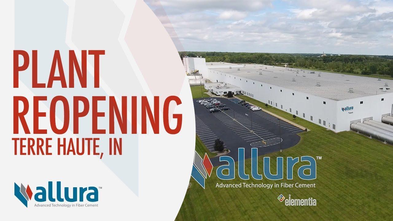 Allura Terre Haute Plant Reopening