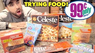 99 CENT STORE FOOD HAUL at DOLLAR STORE!