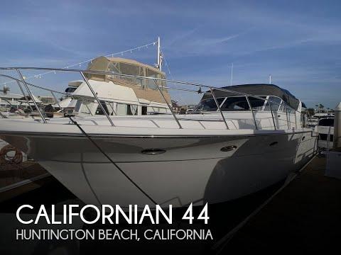 [SOLD] Used 1987 Californian 44 Veneti In Huntington Beach, California