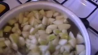 Яблочный компот.