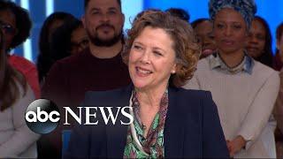 Annette Bening spills 'Captain Marvel' secrets live on 'GMA!' | GMA