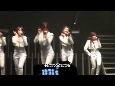 CLOSE FANCAM 111205 Hot Issue - 4minute  United Cube London