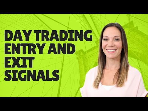 Day Trading Entry and Exit Signals