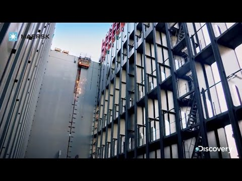 Maersk - World's Biggest Ship: Welding - Discovery Channel