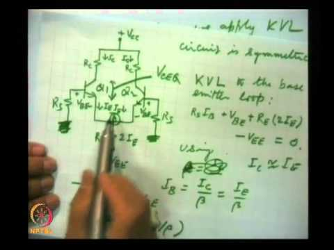 Mod-07 Lec-34  Differential and Operational Amplifier