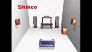 Проверка Акустики ( 5.1 ) TEST SHINCO 5.1(тестовое видео с проверкой каналов 5.1, Тест звука для акустики 5.1 - Ac3, Dolby Digital, 5.1Ch., 2014-06-19T00:26:56.000Z)