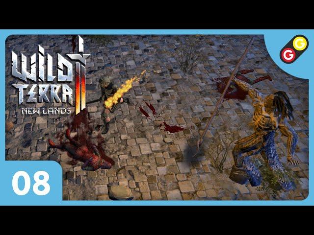 Wild Terra 2 #08 On combat le Nécromancien ! [FR]