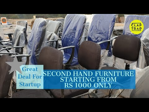 SECOND HAND OFFICE FURNITURE | LOWEST PRICE CHAIRS
