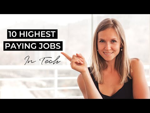 10 Highest Paying Jobs in Tech