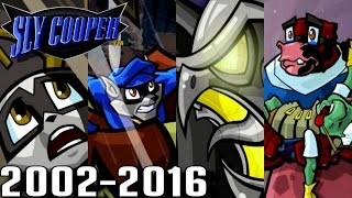 Sly Cooper ALL INTROS 2002-2016 (PS3, PS2, PSVita)