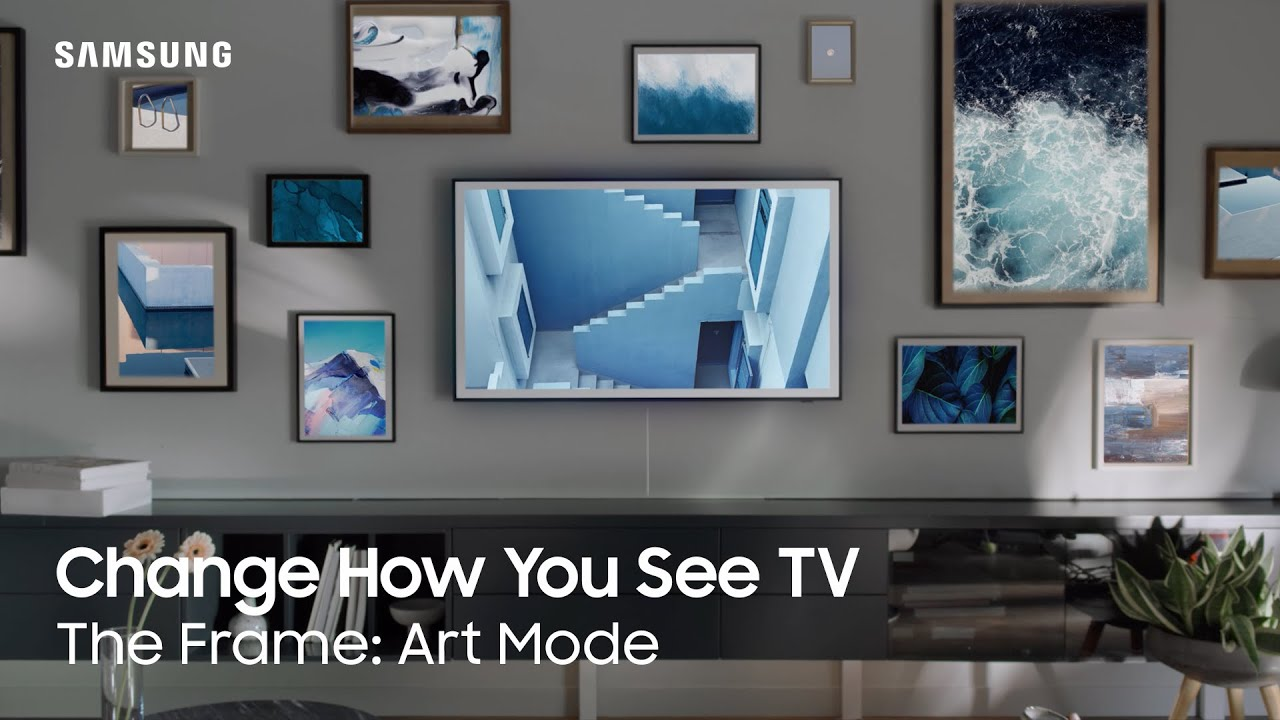 Change How You See TV   The Frame: Art Mode   Samsung