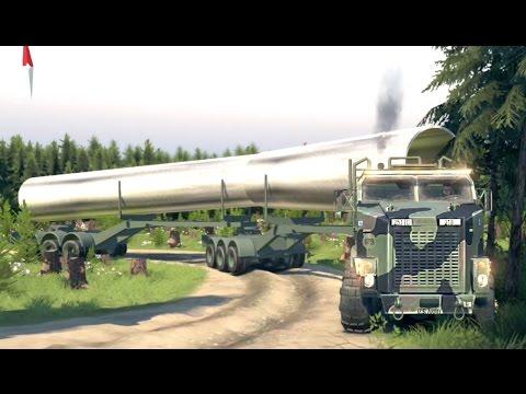 Gigante Tractocamion Oshkosh M1070 | Doble Remolque