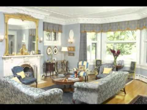 Living Room Bay Window Ideas   YouTube