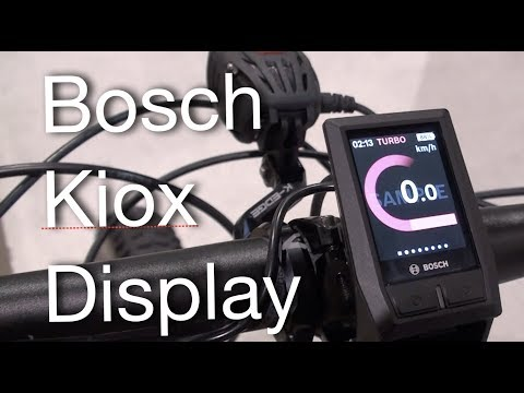 55a368f462e New Bosch Kiox Color Display, FD & PD Using eBikes, eMTBs at Ski Resorts | Electric  Bike Report - YouTube