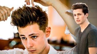 Mens Hair | Charlie Puth Haircut & Hairstyle | Faded Undercut 2017