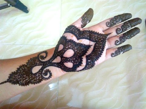simple arabic henna easy stylish mehndi tattoo design for beginners naush artistica youtube. Black Bedroom Furniture Sets. Home Design Ideas