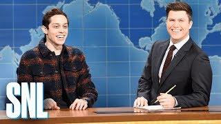 Weekend Update: Pete Davidson on Filming a Commercial - SNL thumbnail