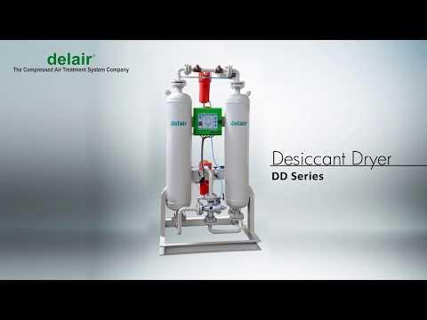 Delair Desiccant Dryer Video