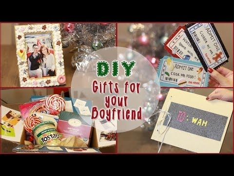 cute gifts to make your boyfriend for christmas