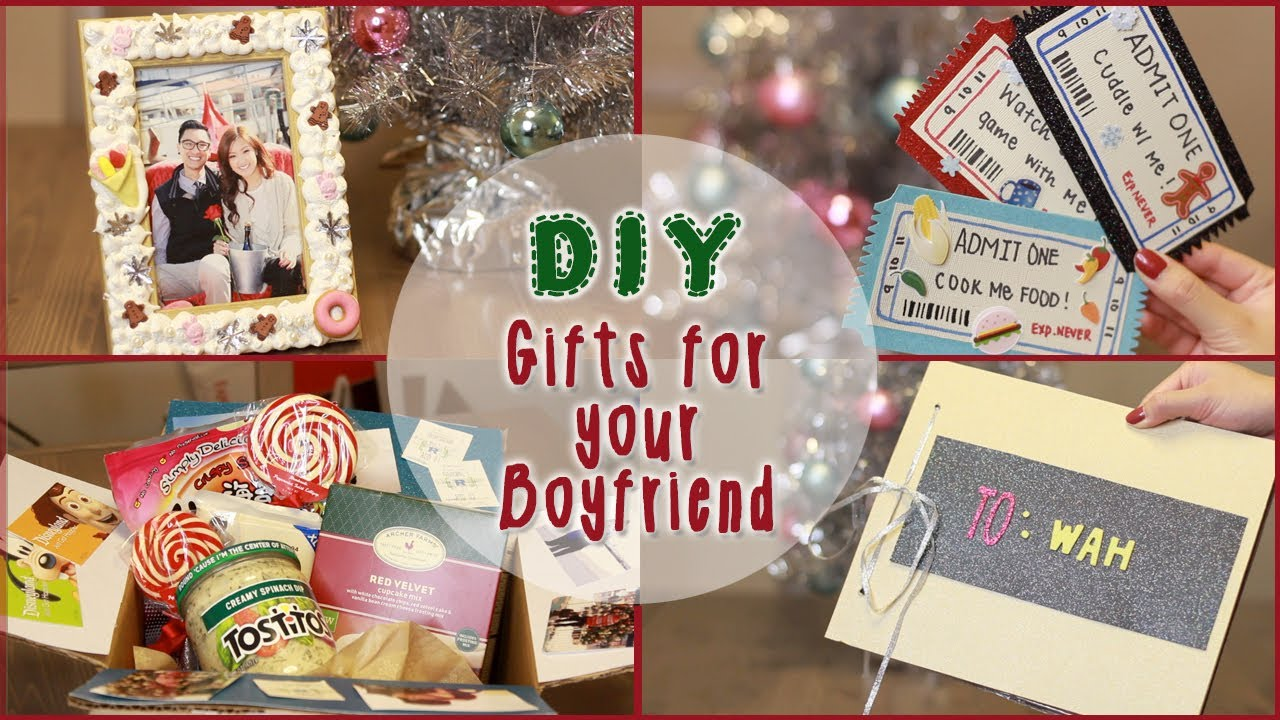 diy 5 christmas gift ideas for your boyfriend ilikeweylie youtube - Homemade Christmas Gifts For Boyfriend