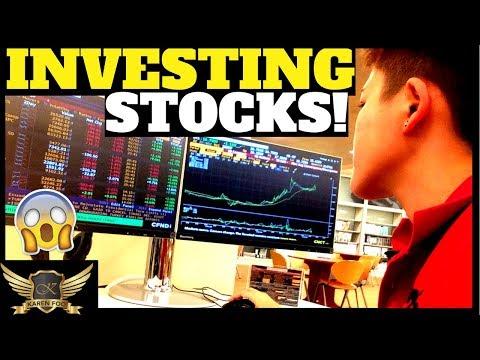 MY STOCK INVESTOR LIFESTYLE & CURRENCY TRADER LIFE   Karen Trader Vlog 070