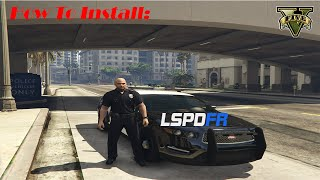 GTA 5 How to Install LSPDFR 0.3.1