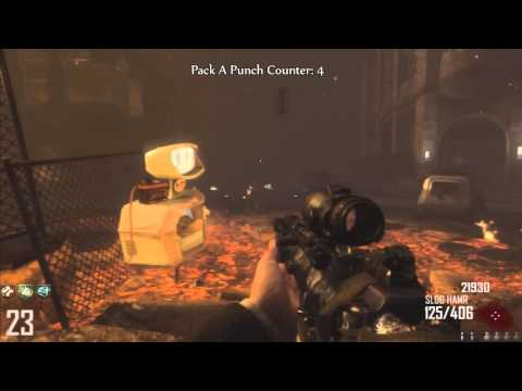 Black Ops 2 Zombies: Pack A Punch 13 Times!