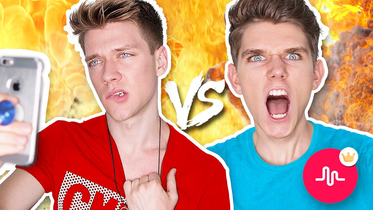 Musical Ly Battle Musers Collins Key Vs Devan Key Youtube
