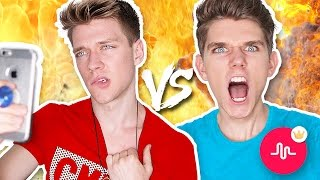 🔴Musical.ly Battle Musers | Collins Key vs. Devan Key Video