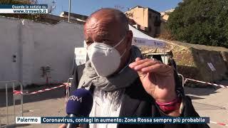 Palermo. coronavirus, contagi in aumento: zona rossa sempre più probabile