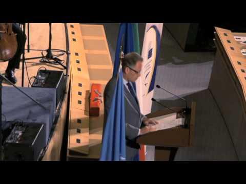UNOG - Introduction Speech & Michael Moller (Con Verdi Nel Mondo)