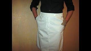 Как из брюк пошить юбку - варианты ,идеи, фасоны ,модели