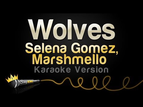 Selena Gomez, Marshmello - Wolves (Karaoke Version)